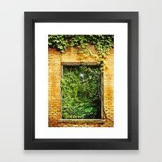 Nature Reclaims Framed Art Print