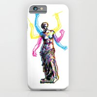 iPhone & iPod Case featuring Venus de Milo is Made of Rock by Paul Sheaffer