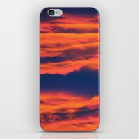 Endless sky iPhone & iPod Skin