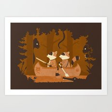 The Hunting Trip Art Print