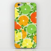 A Slice Of Citrus iPhone & iPod Skin