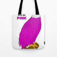 PINK LIBERTY EAGLE Tote Bag