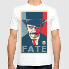 FATE Mens Fitted Tee SMALL White