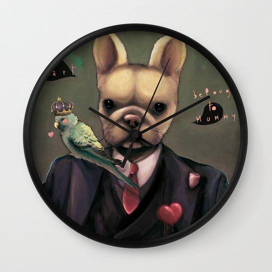 My heart belongs to Mummy Wall Clock