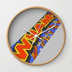 Wham! Wall Clock