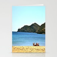 Beach Goers Paradise Remix Stationery Cards
