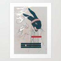 A Sense Of Self Awarenes… Art Print
