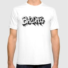 Bazdmeg White SMALL Mens Fitted Tee