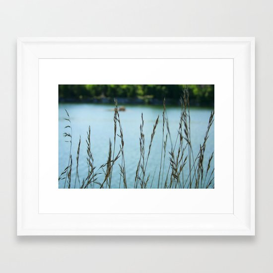 Come Sit with Me Framed Art Print