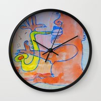 Free Jazz Wall Clock