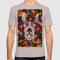 Wonky Donkey Flower  Mens Fitted Tee Cinder SMALL