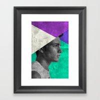 MAN #1 Framed Art Print