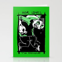 Igor loves to Dance Stationery Cards