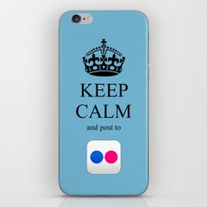 KEEP CALM Flickr iPhone & iPod Skin