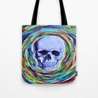 A Skull's Vortex Tote Bag