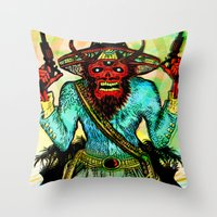 Pistolero Throw Pillow
