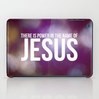 Power in the Name of Jesus iPad Case