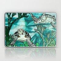 Myrtle Turtle. Laptop & iPad Skin