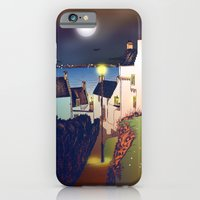 iPhone & iPod Case featuring Hie Gait, the Town of Dysart, Fife in Scotland [Colour version] by Grant Wilson