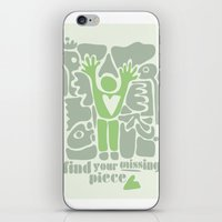 Find your missing piece iPhone & iPod Skin