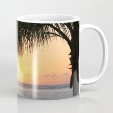 Sunrise and Palm Tree Mug