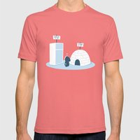For sale Mens Fitted Tee Pomegranate SMALL