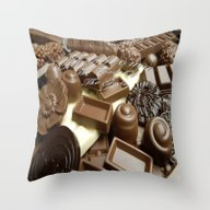 CHOCOLATE,THEOBROMA,CAKE… Throw Pillow