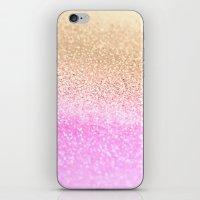 GOLD PINK II iPhone & iPod Skin