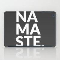 namaste iPad Case