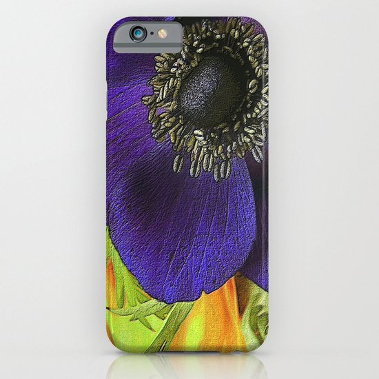 All of My Heart- Flower Power Anemone iPhone & iPod Case