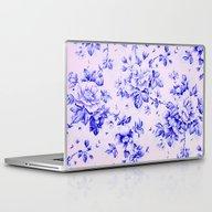 Blue Earthenware Vintage… Laptop & iPad Skin