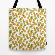 Pineapple Glittering Party Tote Bag