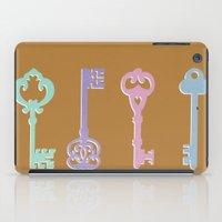 Skeleton Keys iPad Case