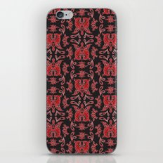 Red & Black Slavic Patterns iPhone & iPod Skin