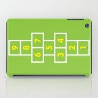 Hopscotch Green iPad Case