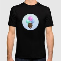 Miss IceCream Mens Fitted Tee Black SMALL