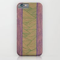 Green And Purple iPhone 6 Slim Case