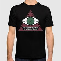 The Holy Mountain by Alejandro Jodorowsky Mens Fitted Tee Black SMALL
