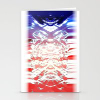 Absolution- QuakeWake (in HyperBluePink) Stationery Cards