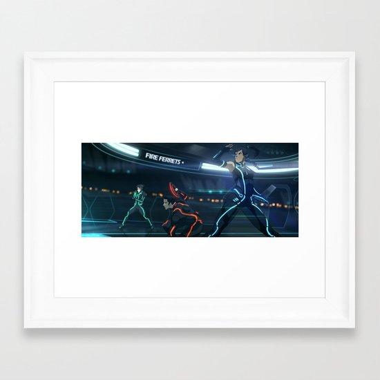 TRON: Legend of Korra Framed Art Print