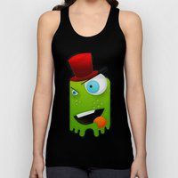 Scary Monster Unisex Tank Top