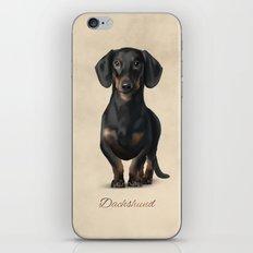 Dachshund iPhone & iPod Skin