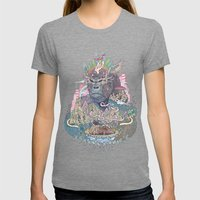 Ceremony Womens Fitted Tee Tri-Grey SMALL
