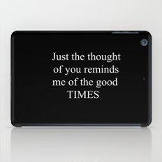 Good Times iPad Case