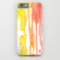 iPhone & iPod Case featuring Rainbow Watercolor by Olechka