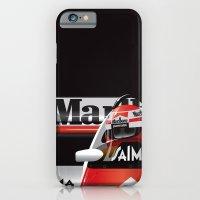 Niki Lauda, McLaren MP4/2 TAG Porsche, 1984 iPhone 6 Slim Case