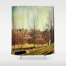 Hometown Shower Curtain