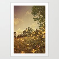 Summer Whimsy Art Print