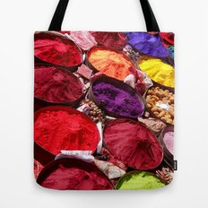 Indian powders Tote Bag