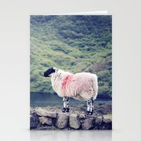 Living On The Edge Stationery Cards